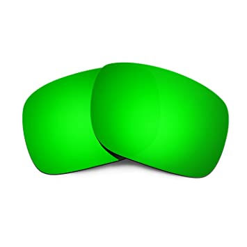 379e0d804a3 HKUCO Plus Replacement Lenses For Oakley Holbrook Sunglasses Emerald Green  Polarized  Amazon.co.uk  Sports   Outdoors