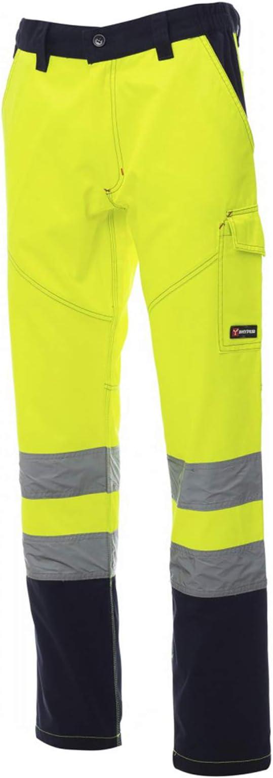 CHEMAGLIETTE Pantaloni da Lavoro Uomo Invernali Alta visibilit/à Flanella Payper Charter Polar