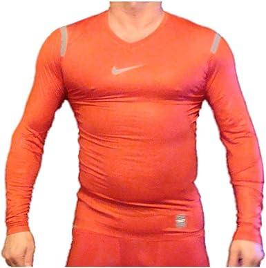representante Desmenuzar Maryanne Jones  Nike Pro Combat Hypercool compresión camiseta interior térmica para mujer,  rojo, 364703 611, Manga Larga, Hombre, color Light Red, tamaño X-Large:  Amazon.es: Ropa y accesorios