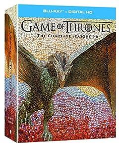 Game of Thrones: The Complete Seasons 1-6 + Digital HD [Blu-ray] by HBO Studio