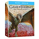 Game of Thrones: The Complete Seasons 1-6 + Digital HD [Blu-ray]