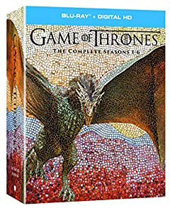 Cover Image for 'Game of Thrones: The Complete Seasons 1-6 + Digital HD [Blu-ray + Digital HD]'