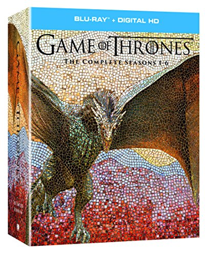 (Game of Thrones: The Complete Seasons 1-6 + Digital HD [Blu-ray])