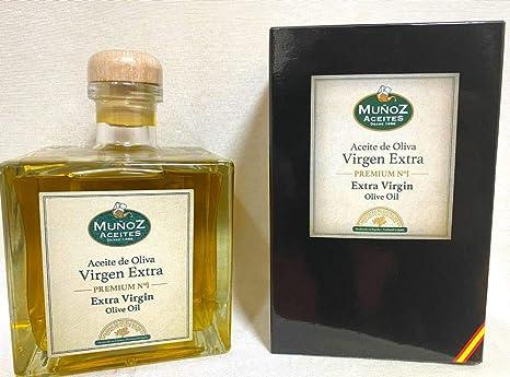 Caja 6 unidades – Aceite de Oliva Virgen Extra Muñoz – PREMIUM – 500ml – Comprar Aceite de Oliva Virgen Extra: Amazon.es: Alimentación y bebidas