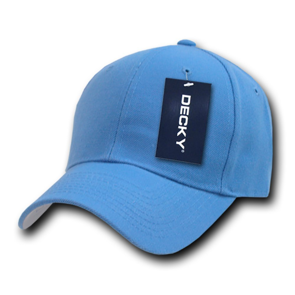 DECKY Fitted Cap, Sky Blue, 7 1/4 by DECKY