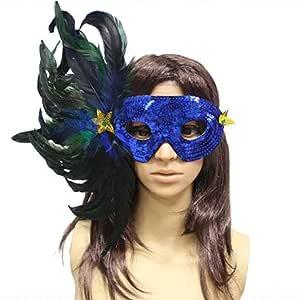 YBBDHD Fiesta De Halloween Decoraciones De Disfraces Máscara De ...