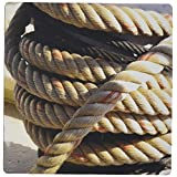 3dRose Image of Mooring Lines for Boat Mouse Pad (mp_174194_1)