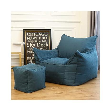 Fantastic Amazon Com Hongteng Multi Color Lazy Couch Tatami Bean Bag Short Links Chair Design For Home Short Linksinfo