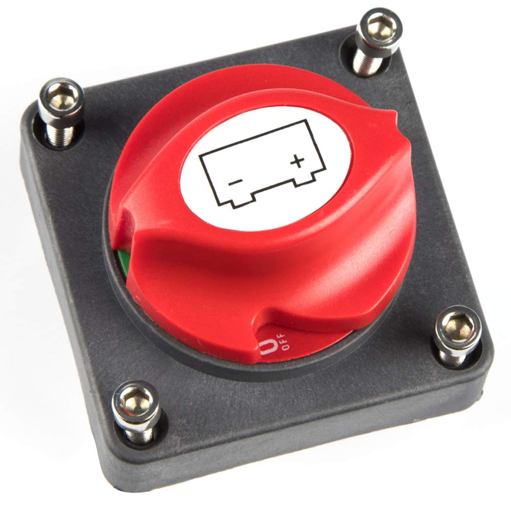 Battery Disconnect Switch Master Isolator Switches for Small Yacht Marine Boat RV Car ATV Vehicles by UPEOR