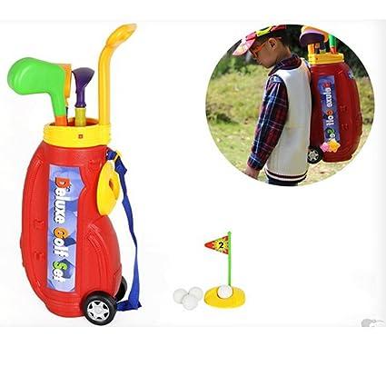 10pcs Niños Indoor plástico plástico mini golf mini juguete ...