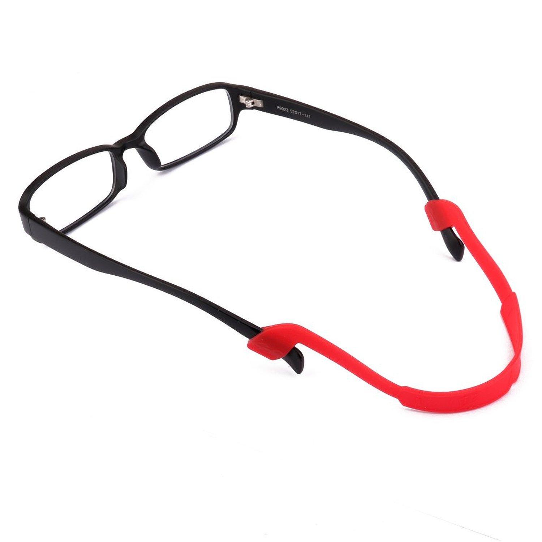 Primi niños, Gel colorido gafas gafas cordón correa para el cuello soporte