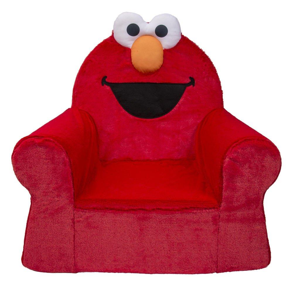 Amazoncom Sesame Street Elmo Cumfy Foam Chair Kitchen Dining