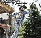 "Hanging Scarecrow. 39"". Plastic."