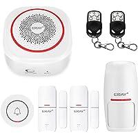 TUYA Smart Home Security Alarm Siren System, ERAY H3 Wireless WiFi Burglar Siren Alarms Compatible with Alexa and Google…
