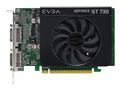 EVGA 01G-P3-2731-KR GeForce GT 730 1GB GDDR3 - Tarjeta ...