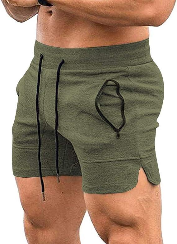 Darringls Pantalones Cortos Hombre, Hombre Pantalón Corto Pantalón ...