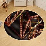 Gzhihine Custom round floor mat Metal Construction Structures