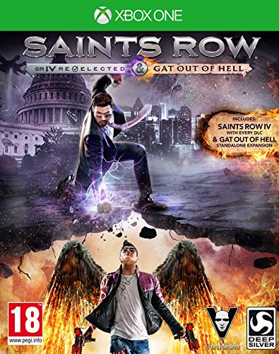 Koch International Saints Row Iv Re-Elected & Saints Row: Gat Out Of Hell (Xbox One)