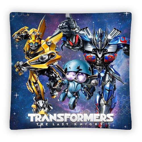AHS Transformers Housse de Coussin Enfants pour Enfant Taie doreiller 40/x 40/cm Garnissage Non Inclus