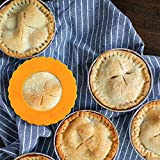 Webake Mini Silicone Pie Shield 4-Pack, Pie Crust