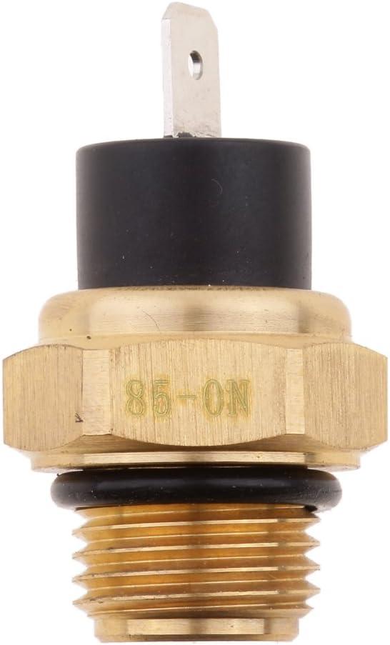 Sharplace Sensor de Temperatura Interruptor Térmico para Ventilador de Radiador de Moto M16 85 ℃