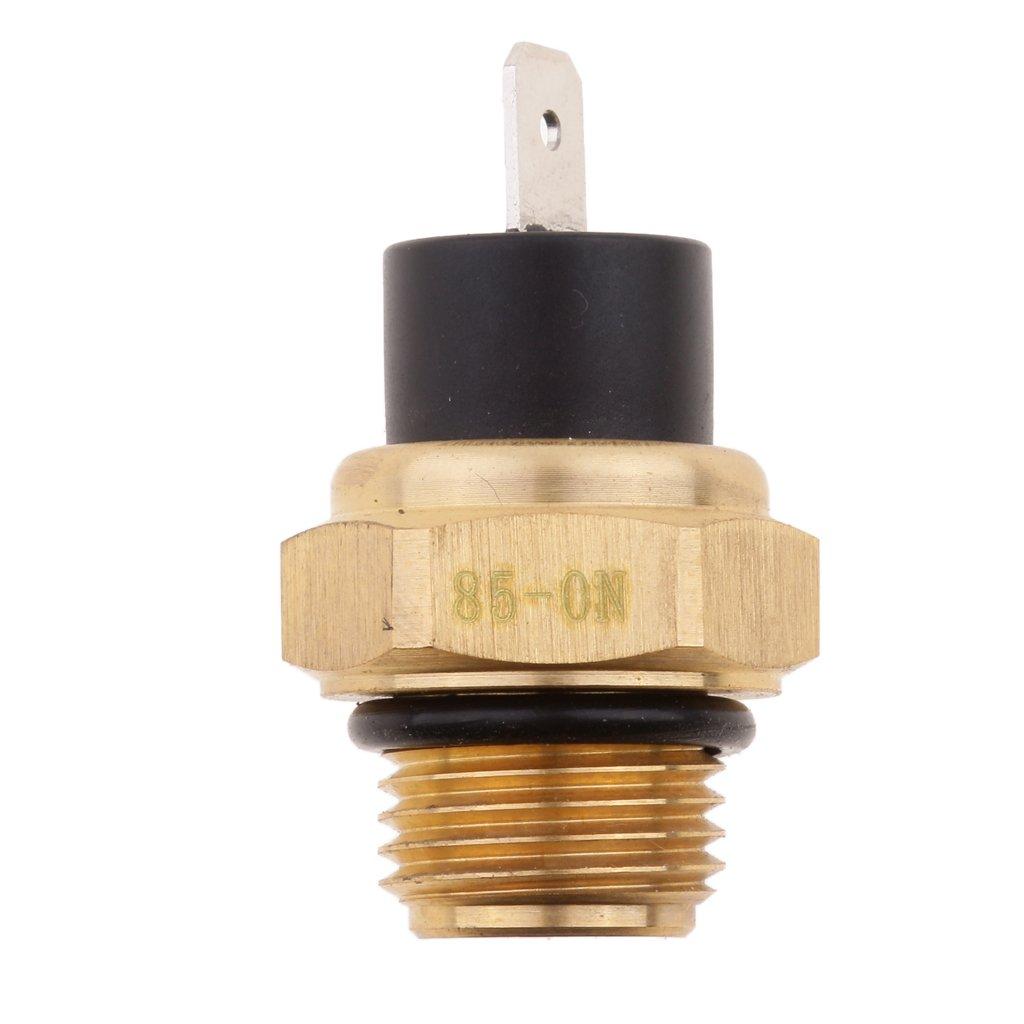 Dolity Radiator Fan Water Temperature Switch for Honda VT600 VT750 1100 VTX1300