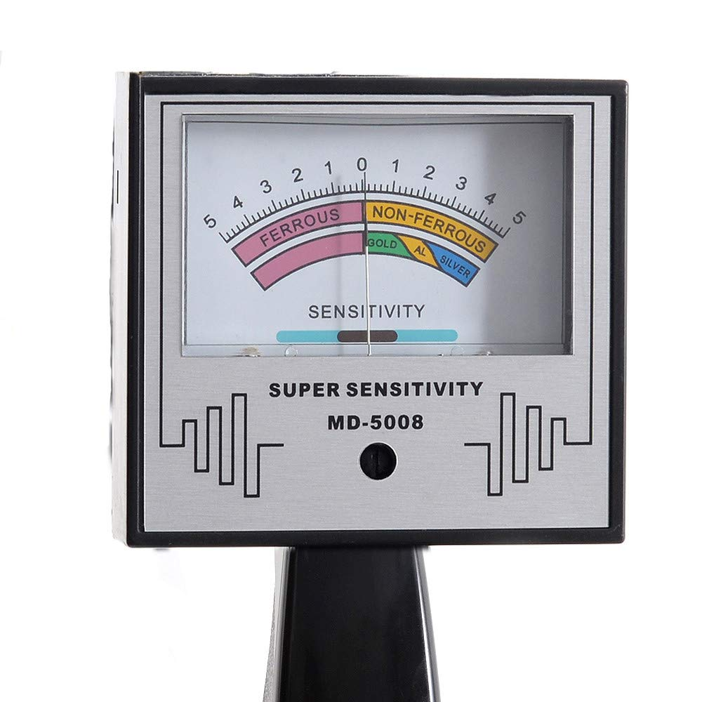 HUKOER Detector de Metales MD-5008 3.5M Detector de Metales subterráneo Profesional Bobina Profunda Búsqueda de búsqueda Buscador de Tesoros de Oro para ...