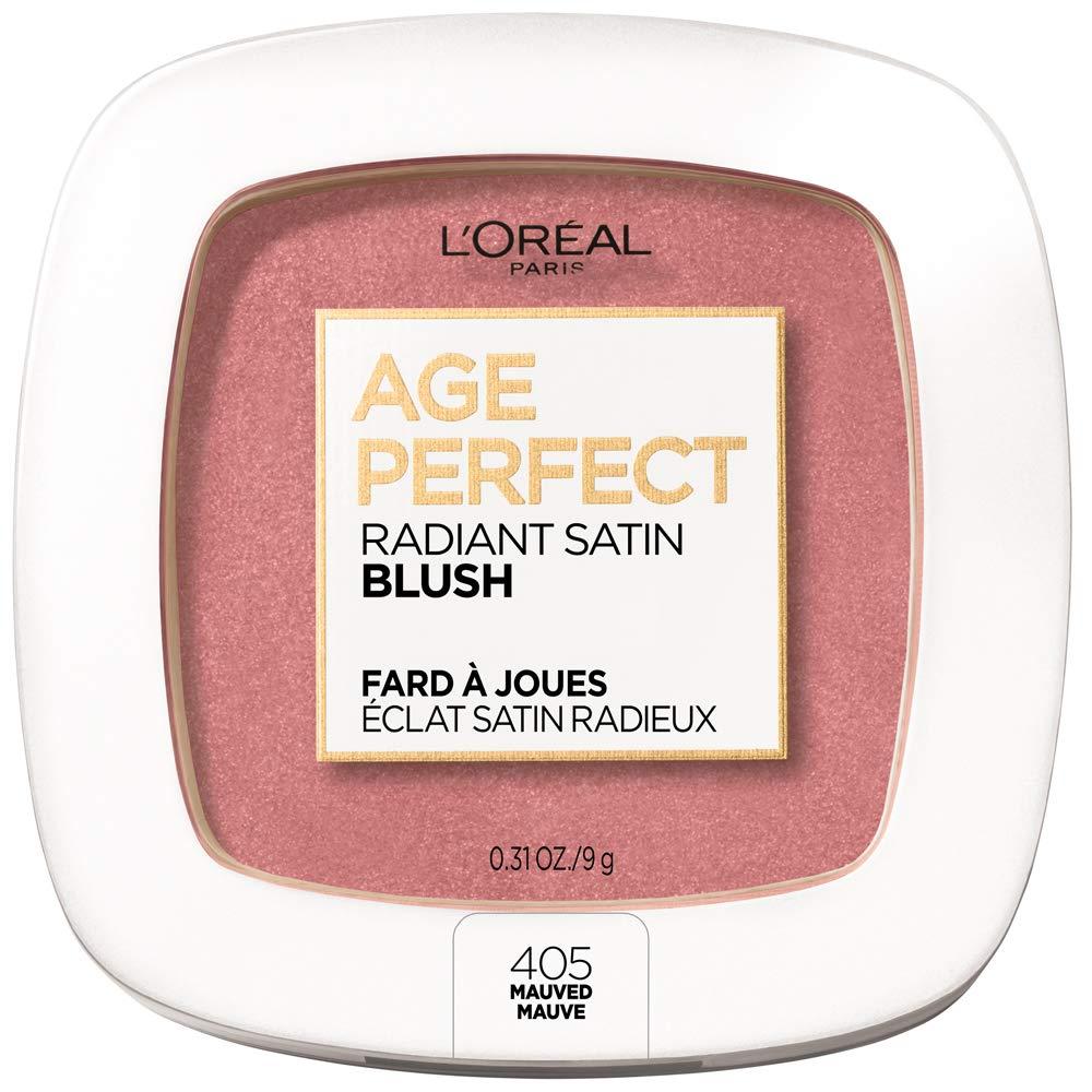 L'Oreal Paris Age Perfect Radiant Satin Blush with Camellia Oil, Mauved