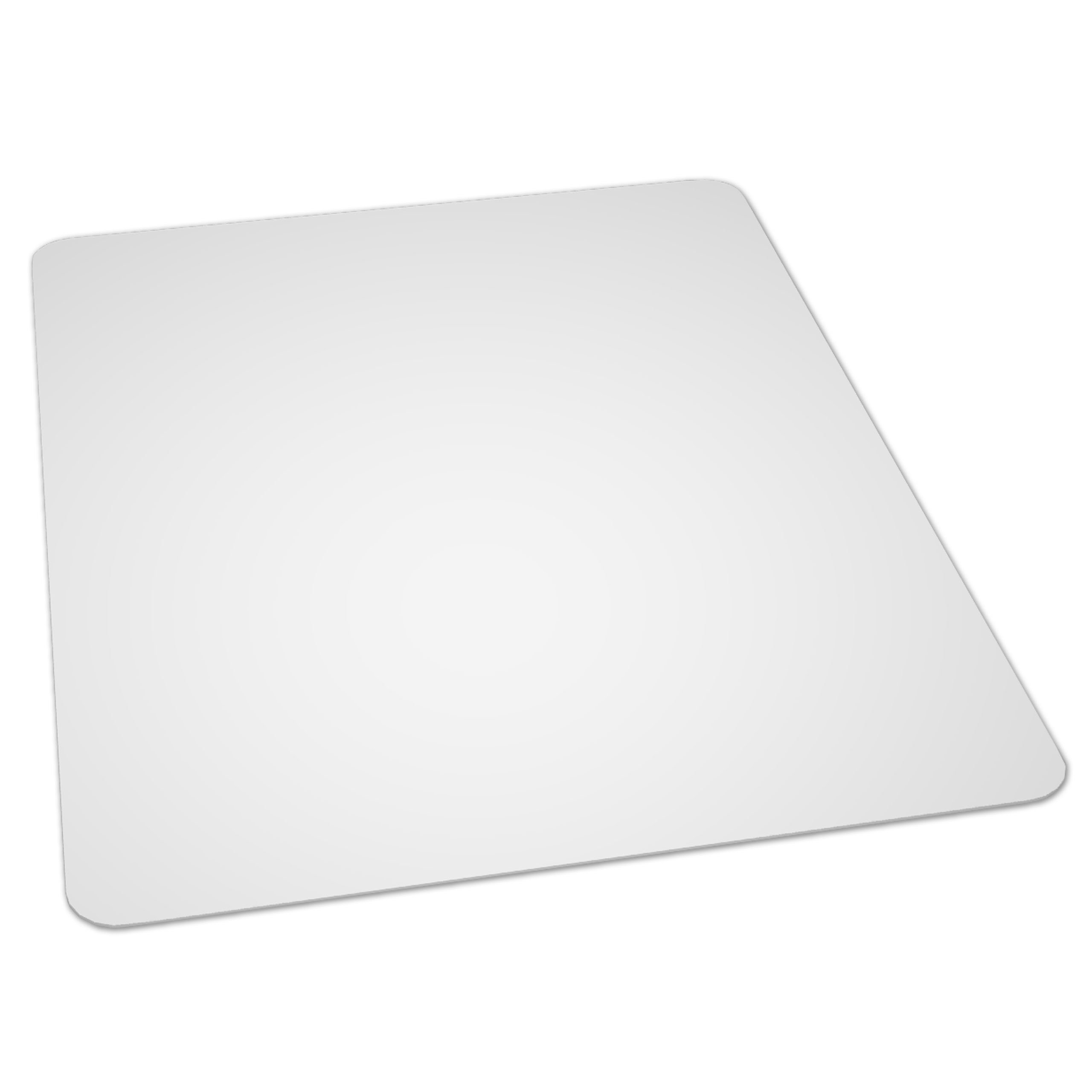 ES Robbins EverLife 46-Inch by 60-Inch Multitask Series Hard Floor Rectangle Vinyl Chair Mat, Clear