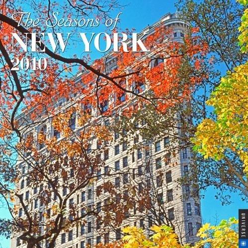 The Seasons of New York 2010 Wall Calendar