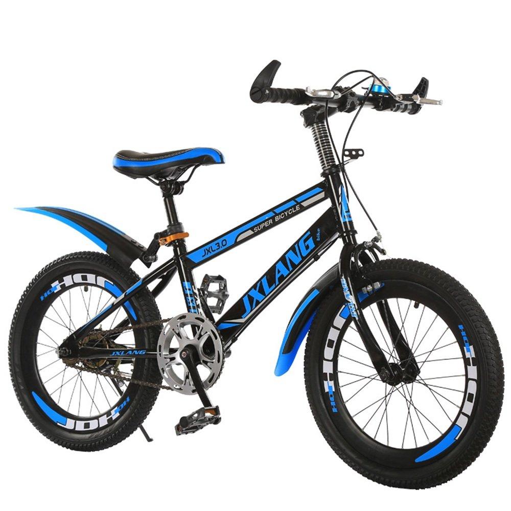 子供用自転車、1820インチの学生用マウンテンバイク615歳のサイクリング少年少女 ( 色 : Blue-A , サイズ さいず : 18 inches ) B07CNK5SS9 18 inches|Blue-A Blue-A 18 inches
