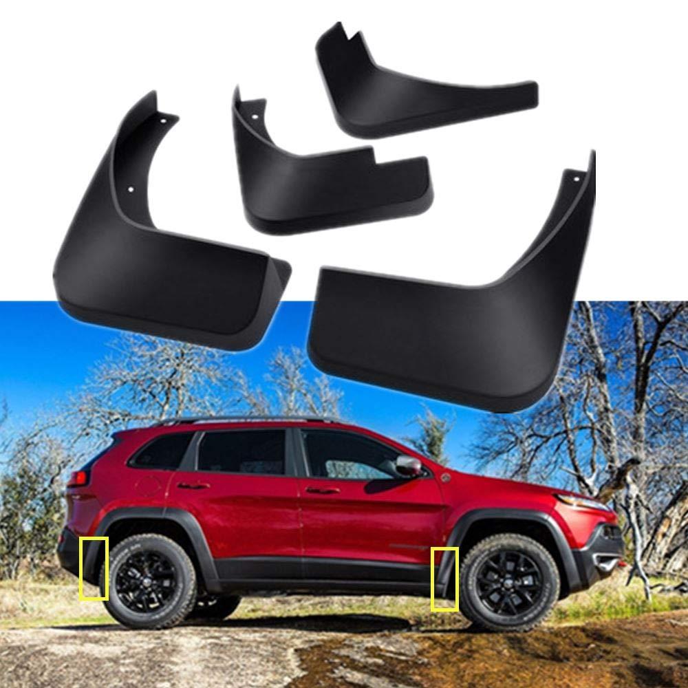 TOPGRIL Car Mudguard Fender Car Mud Flaps Mud Splash Guard Kit fit for 2018 2019 Volkswagen VW Atlas 4Pcs