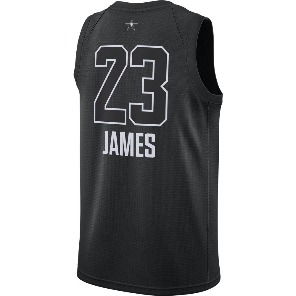 Nike 2018 NBA All-Star Game Men s Lebron James Swingman Jersey Large Black   Amazon.co.uk  Sports   Outdoors a89837ee0
