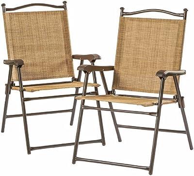 Amazon Com Phi Villa Patio Rattan Folding Chair Indoor