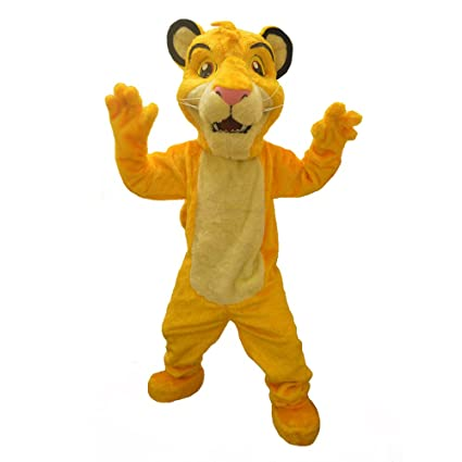 Amazon.com: KF The Lion King Simba Mascot Party Costume ...