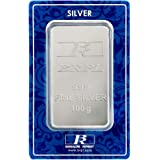 Bangalore Refinery 999 Purity Silver Bar 100 Gram