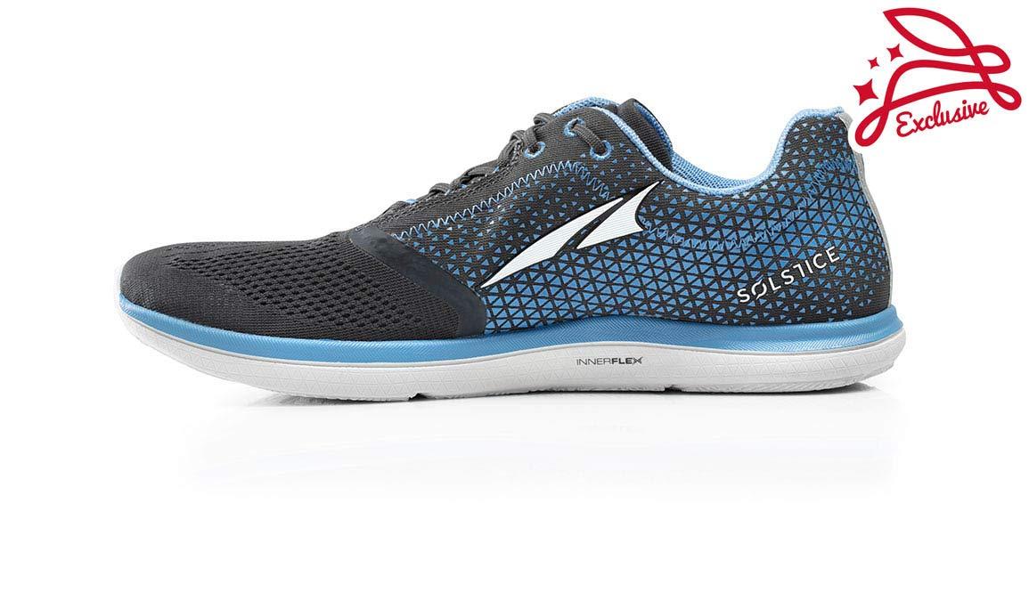 Altra Men's Solstice Running Shoe - Color: Grey/Blue (Regular Width) - Size: 8 by Altra (Image #2)