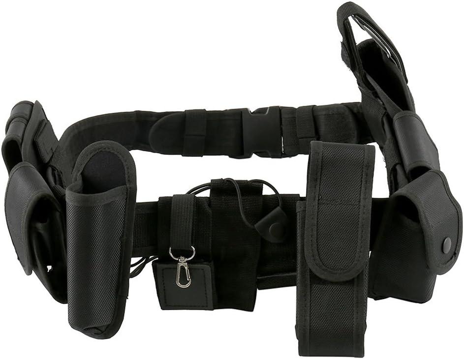 tattica 6 cinture tattiche per la polizia attrezzatura militare regolabile per attivit/à all/'aria aperta cintura di sicurezza regolabile Emsea
