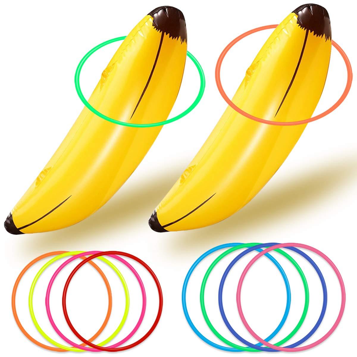 Bachelorette Juego de Fiesta Inflable Banana Ring Toss ...