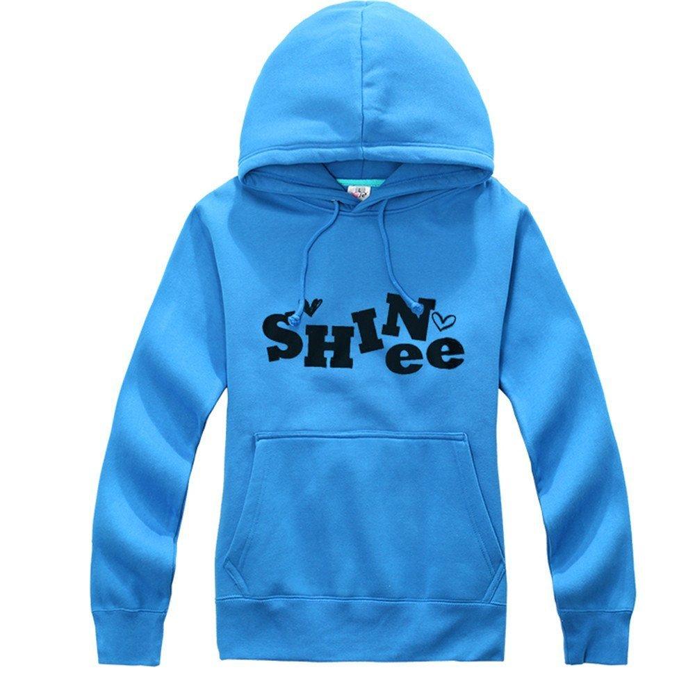 K‐POP Shineeパーカースウェットシャツ長袖 公式ファンクラブSHinee World(シャイニーワールド) 厚く柔らかいスーパー品質 xx-large Shinee B00LHVVGE0