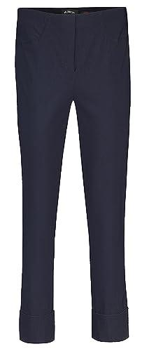 Robell – Pantalón – recto – para mujer Sommer Marine 52