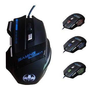 Cuitan 3200 Dpi Usb Souris De Jeu Filaire Optique Gaming Mouse Pour