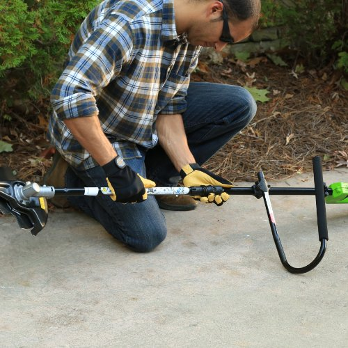 Greenworks 14-Inch 40V Cordless String Trimmer (Attachment Capable), 4.0 AH Battery Included 21362 by Greenworks (Image #7)