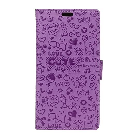 5 opinioni per Custodia Cover Asus ZenFone Go TV ZB551KL 5.5 inch, Moonmini® Magnetico