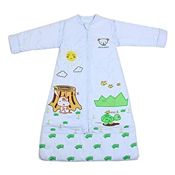 CWLLWC Saco de Dormir para bebé,Retroceso contra de los niños Saco de Mediana Edad