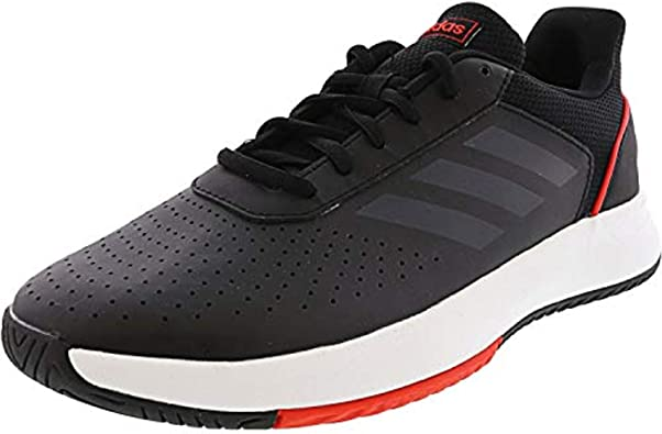 Adidas Men/'s Courtsmash Ankle-High Fashion Sneaker Shoe