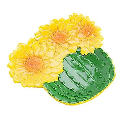 Dytiying Bandeja de Resina para joyería, para Joyas, Cactus de ...
