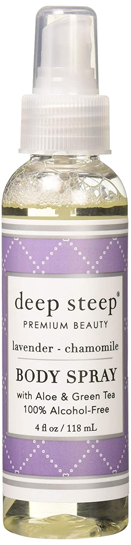 Deep Steep Body Mist Lavender Chamomile Beauty Industry Group DBA Beauty Depot 90001