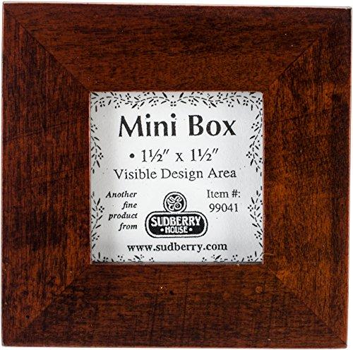 Sudberry House Mahogany Finish Mini Box 3