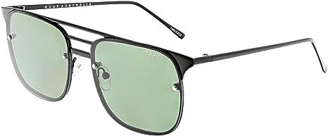 1e1ba3a89f Amazon.com  Quay Australia HENDRIX Mens Sunglasses in Black  Quay ...